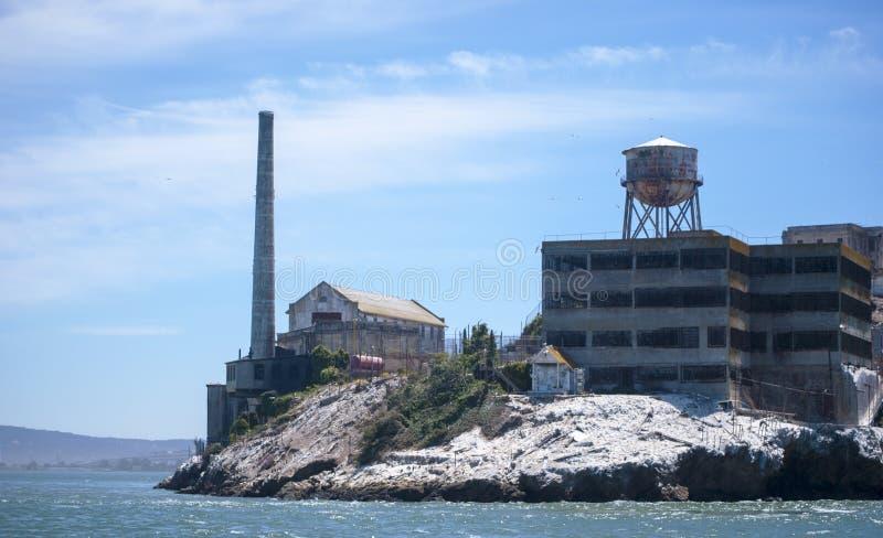Alcatraz, le prision le plus célèbre. photographie stock