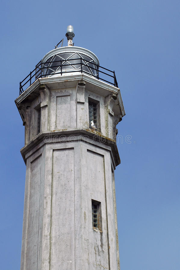 Alcatraz Leuchtturm stockbild