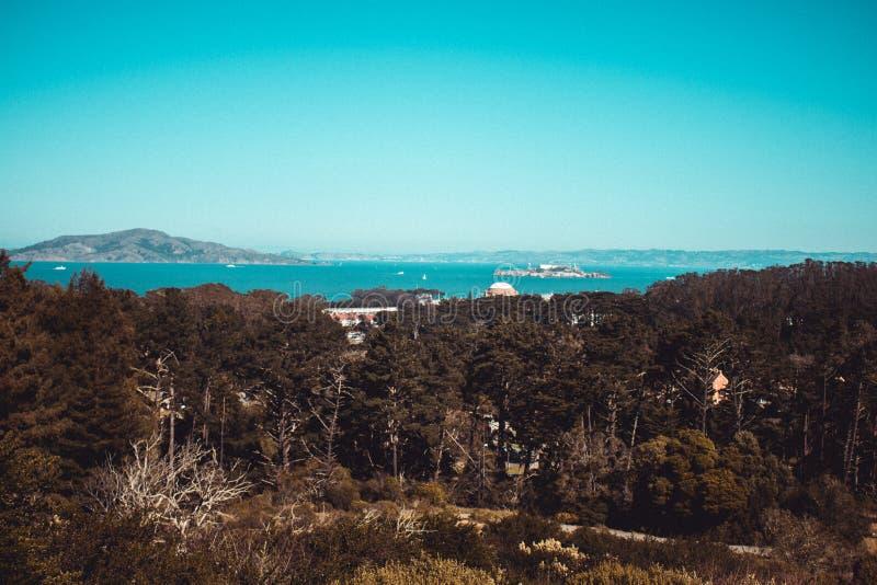 Alcatraz od Daleko zdjęcia royalty free