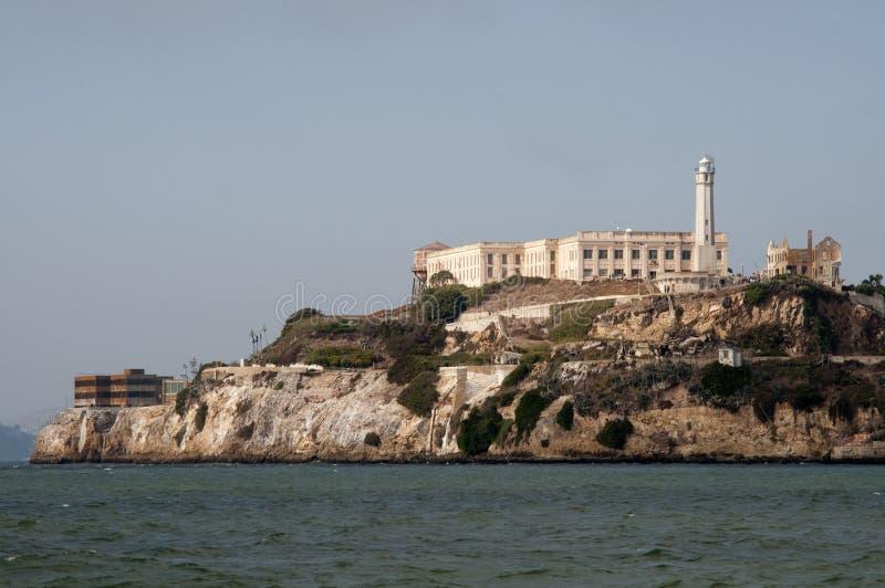 Alcatraz prison. In San Francisco Bay stock photos