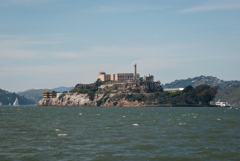 Alcatraz Prison stock photo