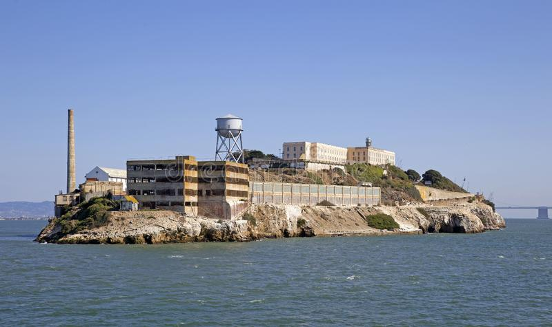 Alcatraz Prison. Island near San Francisco royalty free stock photography