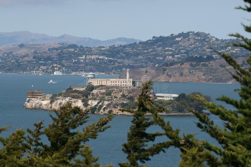Alcatraz San Francisco stock image