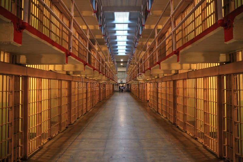 Alcatraz - Szeroki widoku puszek Broadway obrazy stock