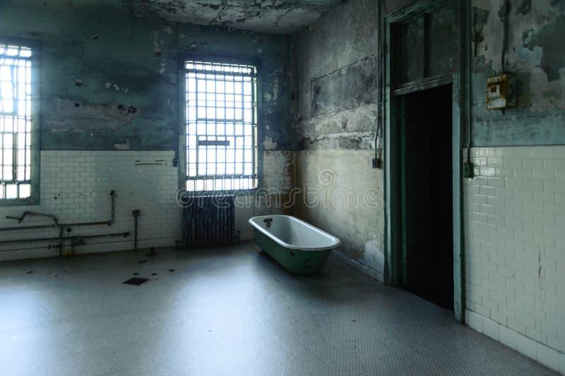 Alcatraz szpital obrazy royalty free