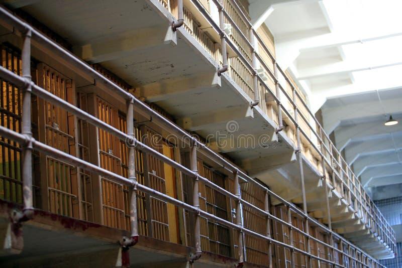 Alcatraz więzienia domu blok obrazy royalty free