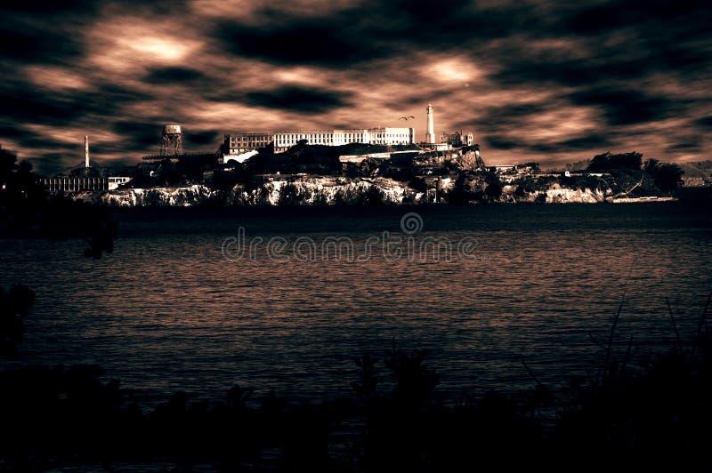 alcatraz więzienie zdjęcia stock