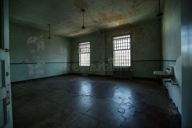 Alcatraz więzienie fotografia royalty free