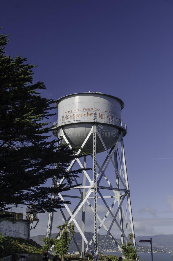 ALCATRAZ więzienie, SAN FRANSISCO KALIFORNIA fotografia stock