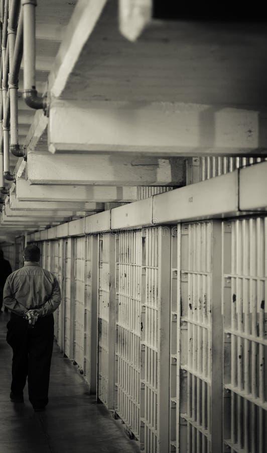 ALCATRAZ więzienie, SAN FRANSISCO KALIFORNIA zdjęcie stock