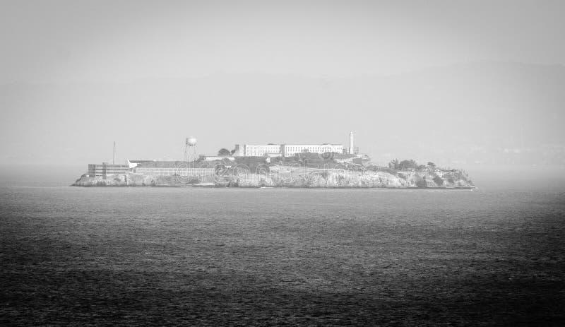 ALCATRAZ więzienie, SAN FRANSISCO KALIFORNIA obraz royalty free