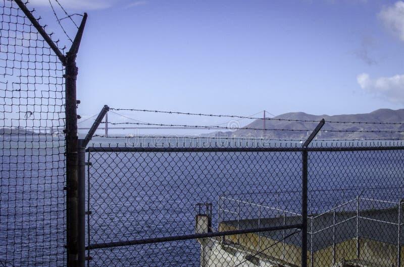 ALCATRAZ więzienie, SAN FRANSISCO KALIFORNIA obrazy stock