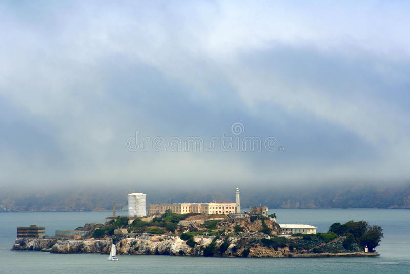 Alcatraz Wyspa zdjęcia royalty free