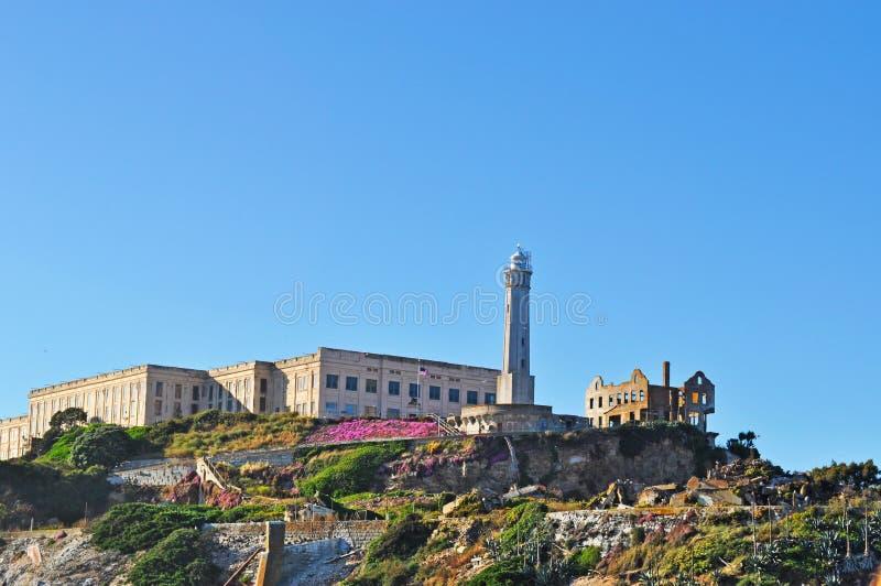 Alcatraz wyspa, San Fransisco, Kalifornia, Stany Zjednoczone Ameryka, Usa zdjęcie royalty free