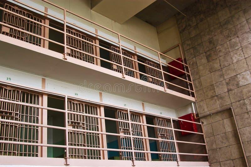 Alcatraz Zellen Stockbilder