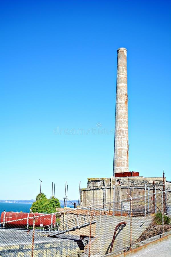 Alcatrazgevangenis, de V.S. stock foto