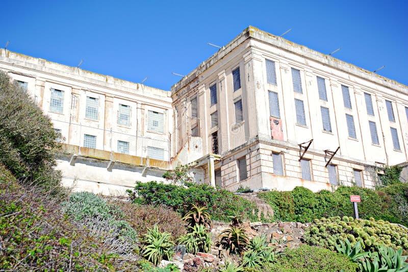 Alcatrazgevangenis, de V.S. stock foto's