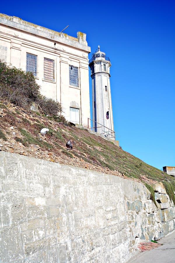 Alcatrazgevangenis, de V.S. royalty-vrije stock afbeelding