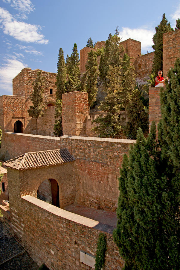 Download Alcazaba stock photo. Image of town, historic, arabic - 24241698