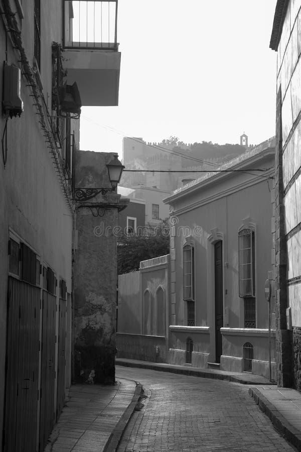 Alcazaba Almeria fotos de stock royalty free