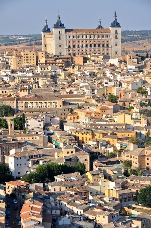 alcazar πανοραμική όψη της Ισπανία στοκ εικόνα