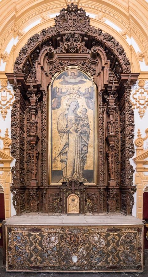 Alcazar, Σεβίλη, Ανδαλουσία, Ισπανία στοκ εικόνες με δικαίωμα ελεύθερης χρήσης