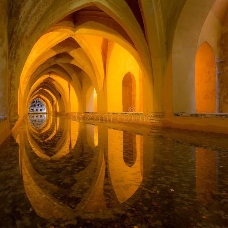 alcazar реальный seville Испания стоковое фото