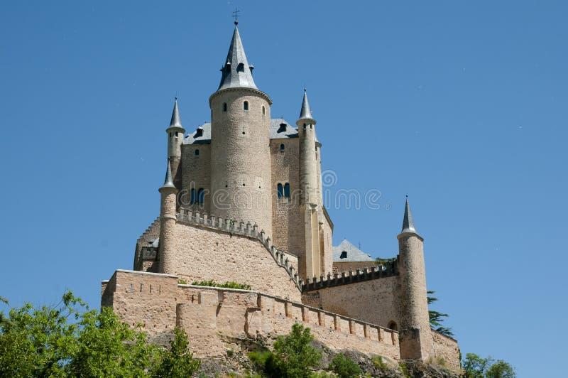 Alcazar av Segovia - Spanien fotografering för bildbyråer