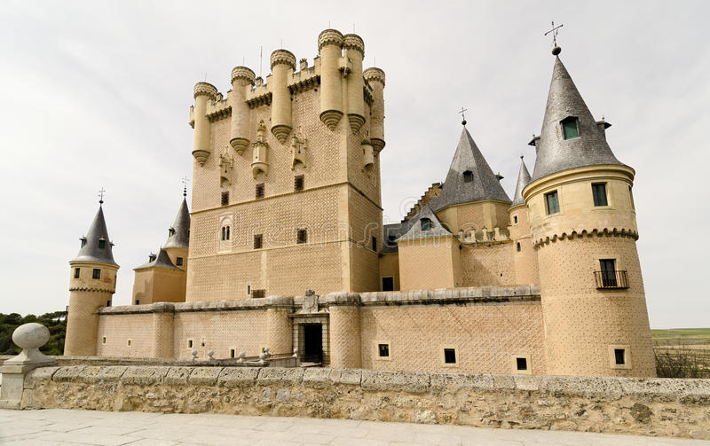 Download Segovia Alcazar stock image. Image of wall, nobility - 29980197