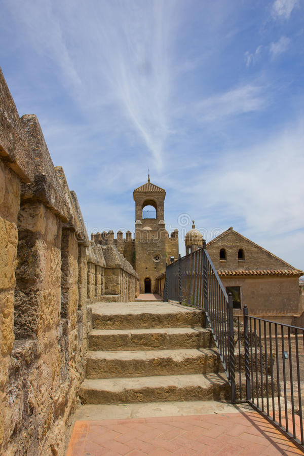 Alcazar of Coedoba, Spain royalty free stock photography