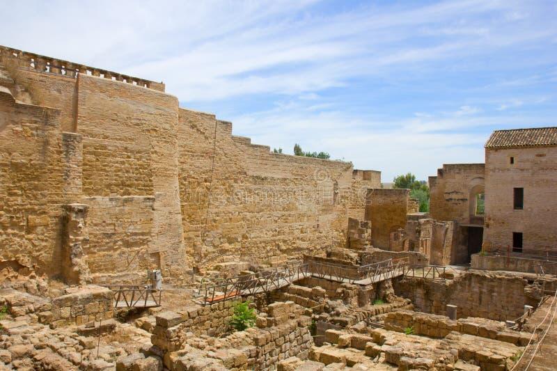 Alcazar of Cordoba, Spain stock photos