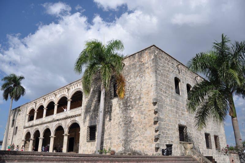 Alcazar DE Colon, Dominicaanse Republiek royalty-vrije stock foto's