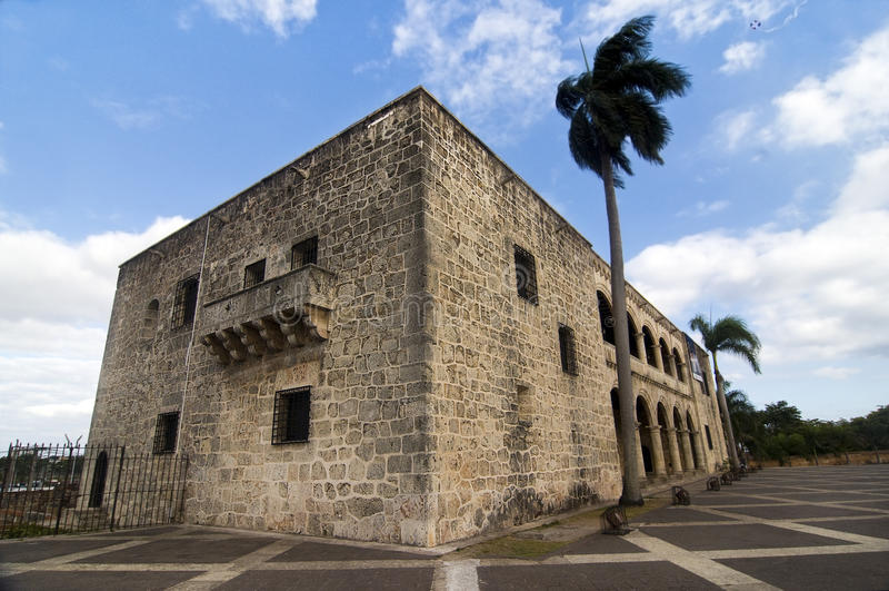 Alcazar DE Colon, Dominicaanse Republiek royalty-vrije stock fotografie