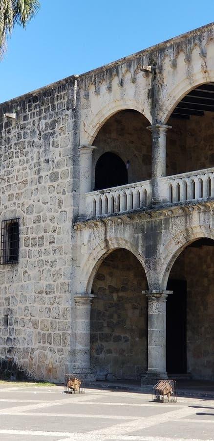 Alcazar de colon Santo Domingo royalty free stock image