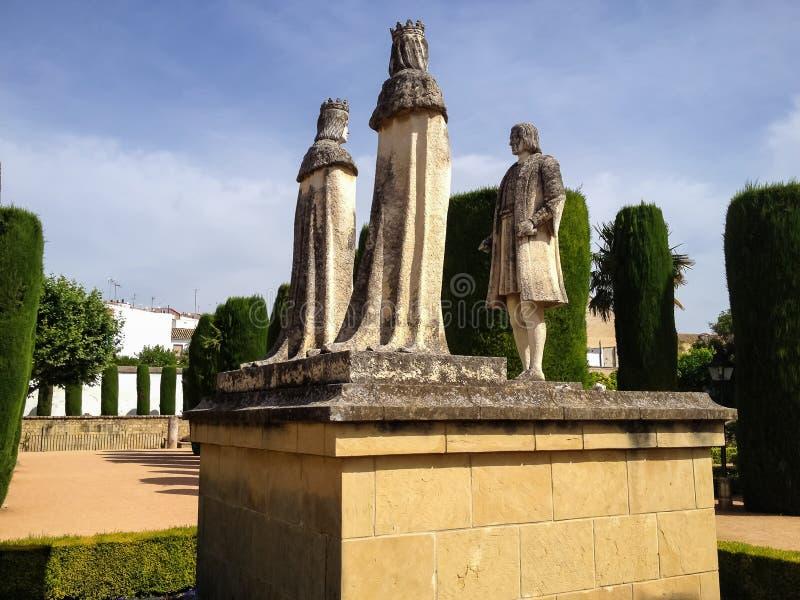 Alcazar DE los Reyes Cristianos in Cordoba royalty-vrije stock fotografie