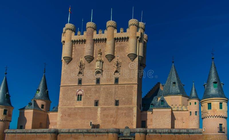 Alcazar de Segovia immagine stock libera da diritti