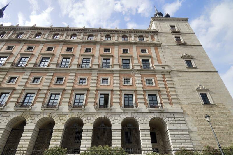 Download Alcazar de Toledo stock photo. Image of castilla, mancha - 24069490