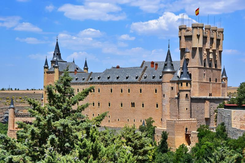 Alcazar del castello immagini stock libere da diritti