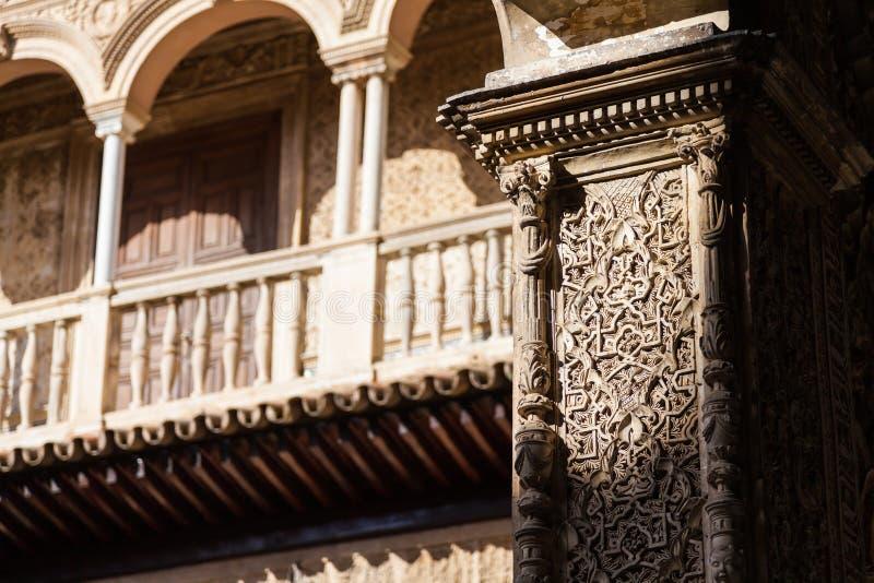 Download Alcazar di Siviglia fotografia stock. Immagine di mosaico - 55353650