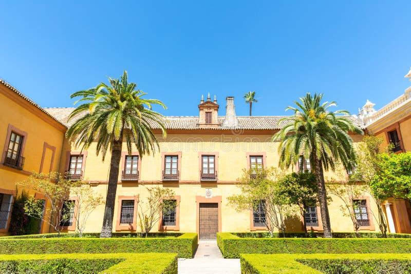 Alcazar España de Sevilla fotos de archivo