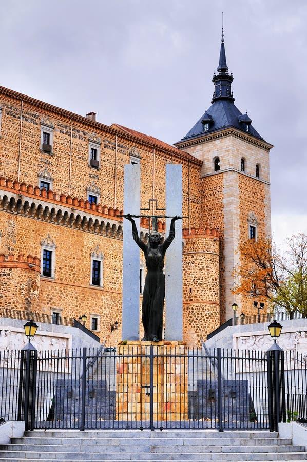 Zabytek w Toledo, Hiszpania obraz royalty free