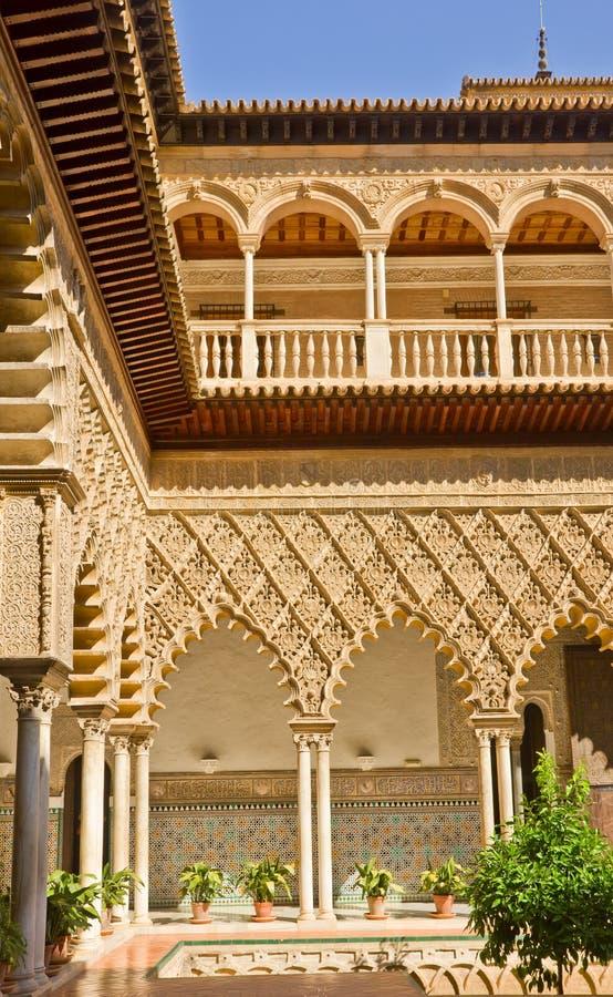 Alcazar réel, Séville, Espagne photo libre de droits