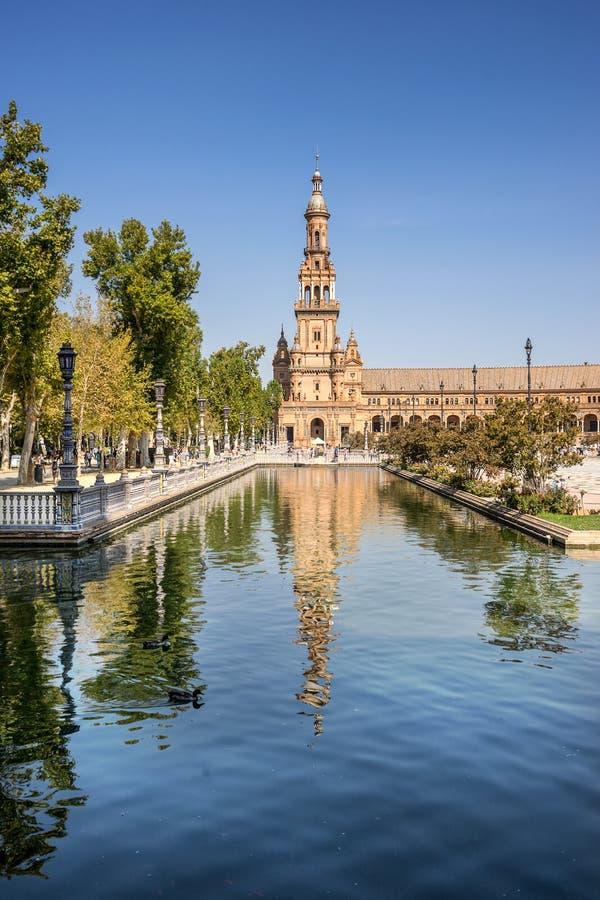Alcazar reale in Siviglia fotografia stock