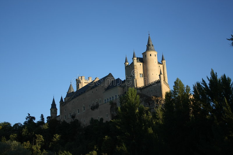 Alcazar Segovia stock photo