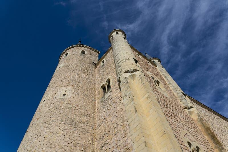 Alcazar, Segovia, Castiglia y Leon, Spagna fotografia stock libera da diritti