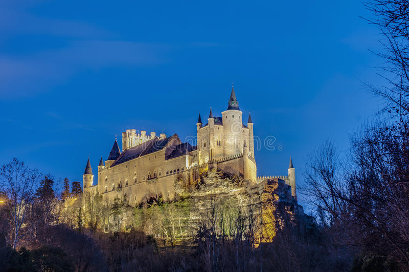 Download Alcazar Of Segovia At Castile And Leon, Spain Stock Image - Image: 24678605