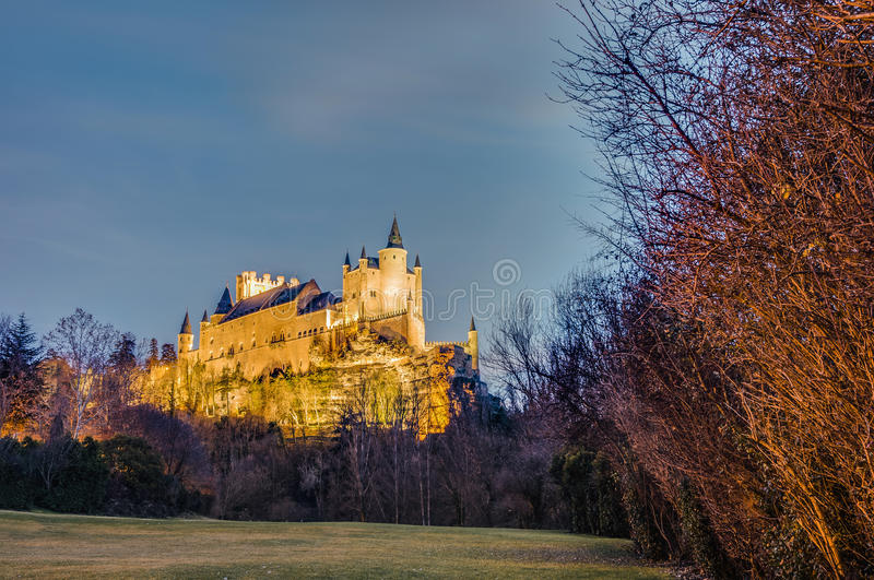 Download Alcazar Of Segovia At Castile And Leon, Spain Stock Image - Image of heritage, exterior: 39508587