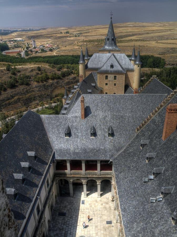Alcazar of segovia, Spain royalty free stock photography