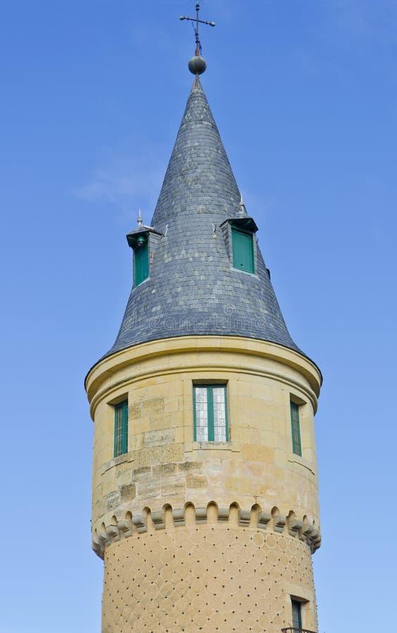 Alcazar in Segovia - Spain stock photos
