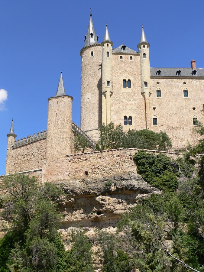 Alcazar, Segovia ( Spain ) stock images